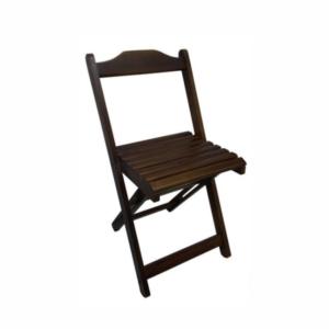 Cadeira bar em madeira dobrável