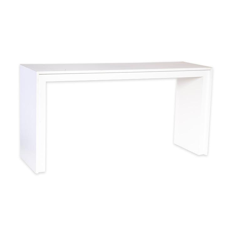 Aparador Pra Sofa ~ Aparador friso MDF branco Carla Bergonse