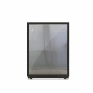 Biombo divisório em vidro